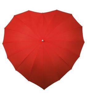 Umbrela in forma de inima