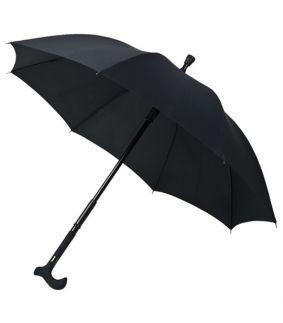 Umbrela cu baston pentru plimbare