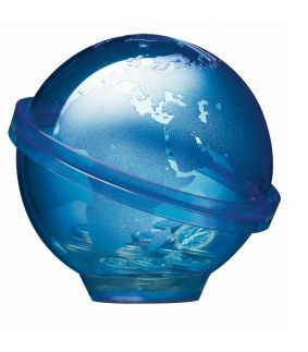 Pusculita in forma de glob pamantesc