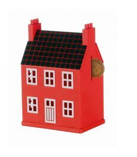 Pusculita Domus in forma de casa pe care o construiesti singur