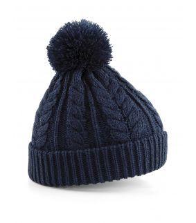 Caciula tricotata cu ciucur Snowstar