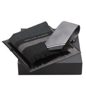 Set cravata si esarfa barbateasca