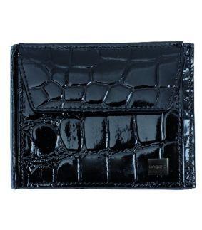 Portofel Arezzo din piele neagra