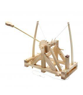 Kit Leonardo da Vinci construieste o catapulta