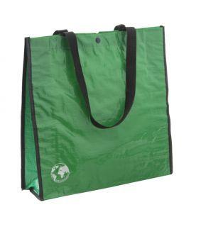 Sacosa de cumparaturi Recycle verde