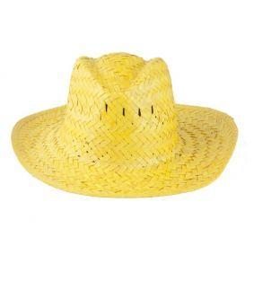 Pălărie colorată din paie