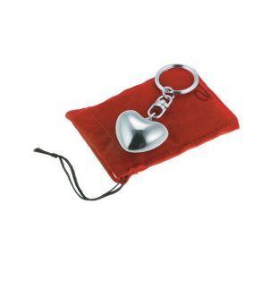 Inimioară roșie breloc Philippi
