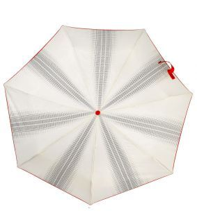 Umbrelă albă de damă