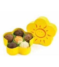 Bănuți din ciocolată și praline