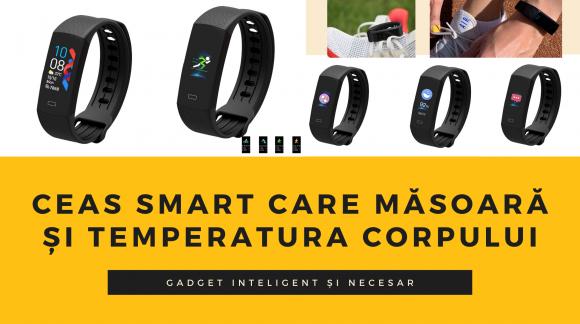 Ceas inteligent care îți măsoară și temperatura corpului